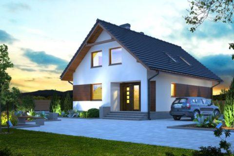 Masz pomysł na zagospodarowanie poddasza? Sprawdź projekty domów z poddaszem