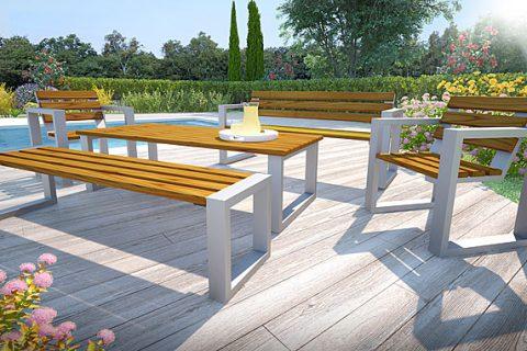 Ławka ogrodowa – jakie materiał wybrać?